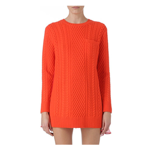 sacai_cable_knit_jumper_orange