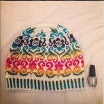Karin Kurbits hat knit by Stormblomma